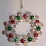 Clear Sparkle Wreath (Christmas Ornaments)