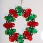 Red Sparkling Wreaths (Christmas Ornaments)