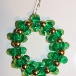 Green Sparking Wreath (Christmas Ornaments)