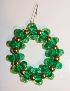 Green Sparking Wreath