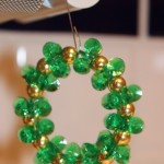 Green Sparkling Wreath (Christmas Ornaments)