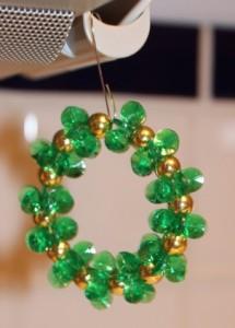 Green Sparkling Wreath