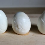 Sad-pealed-eggs (Fresh Eggs should equal Beautiful Hard Boiled Eggs!)