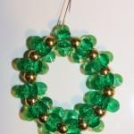 Green Sparking Wreath (Christmas Ornaments)