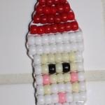 Beaded Santa (Christmas Ornaments)