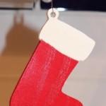 Christmas Boot Hanging (Christmas Ornaments)