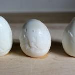 Sad-pealed-eggs (Fresh Eggs should equal Beautiful Hard Boiled Eggs!)